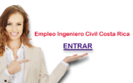 Empleo Ingeniero Civil Costa Rica